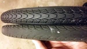 Nyt og gammelt dæk